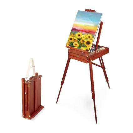 Craftabelle – Art Easel and Canvas