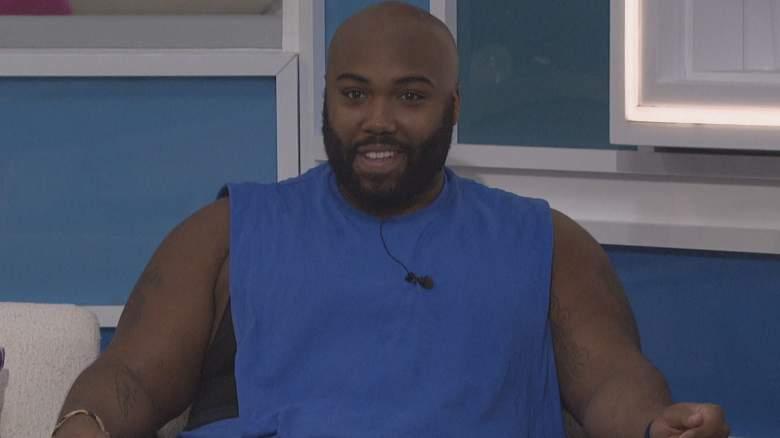 Derek Frazier in the 'Big Brother 23' house