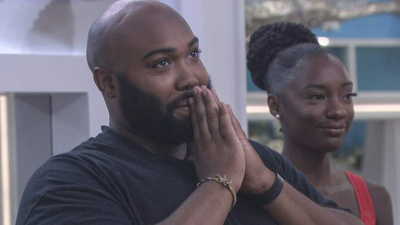 Derek Frazier and Azah Awasum in the 'Big Brother 23' house