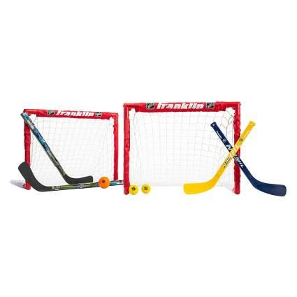 Franklin Sports Kids Folding Hockey 2 Goal Set