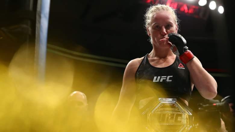UFC champ Valentina Shevchenko