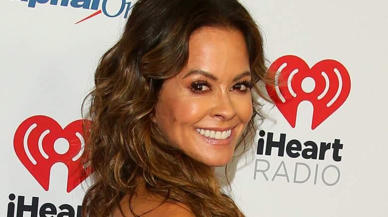US actress and model Brooke Burke arrives for the KIIS FM's iHeartRadio Jingle Ball