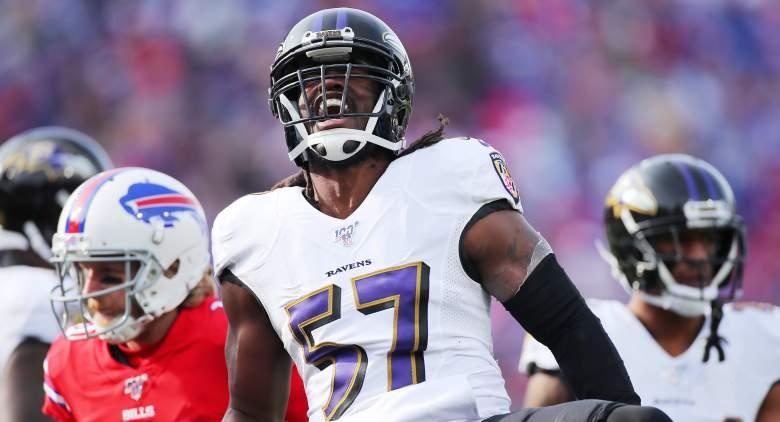 Ravens Josh Bynes