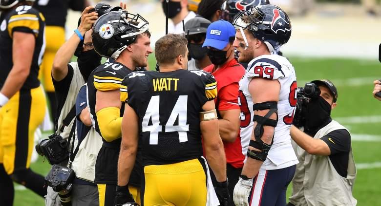 T.J. Watt Derek Watt