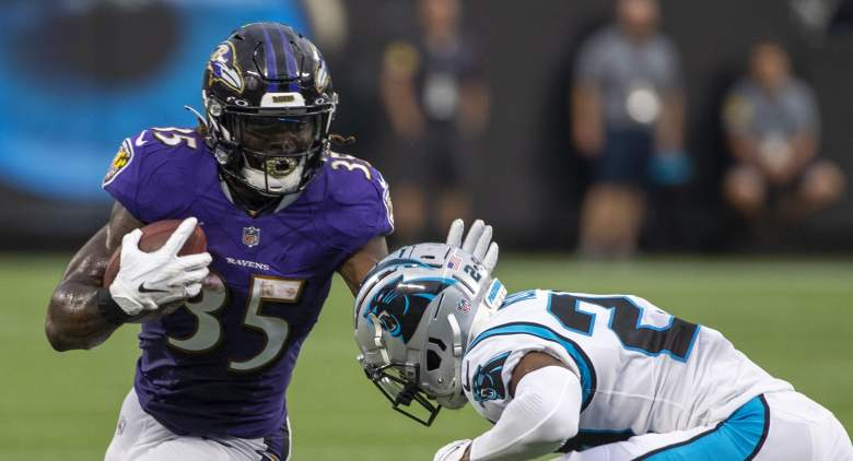 Ravens Gus Edwards