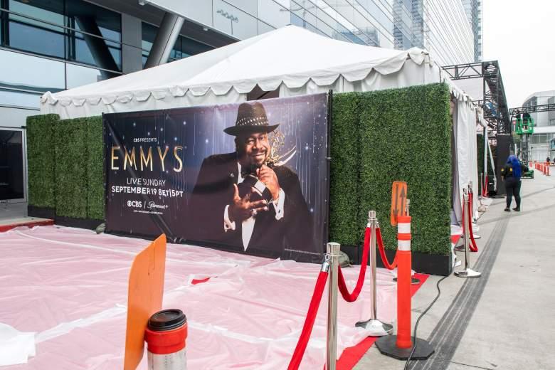 E! Red Carpet Emmys 2021