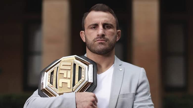 UFC champ Alex Volkanovski