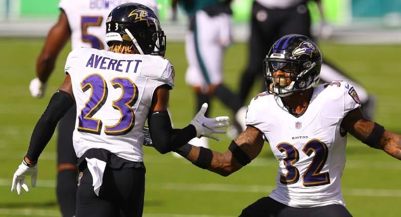 Ravens Anthony Averett