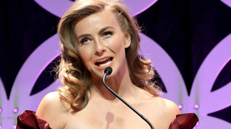 Julianne Hough speaks onstage during the 24th Family Film Awards