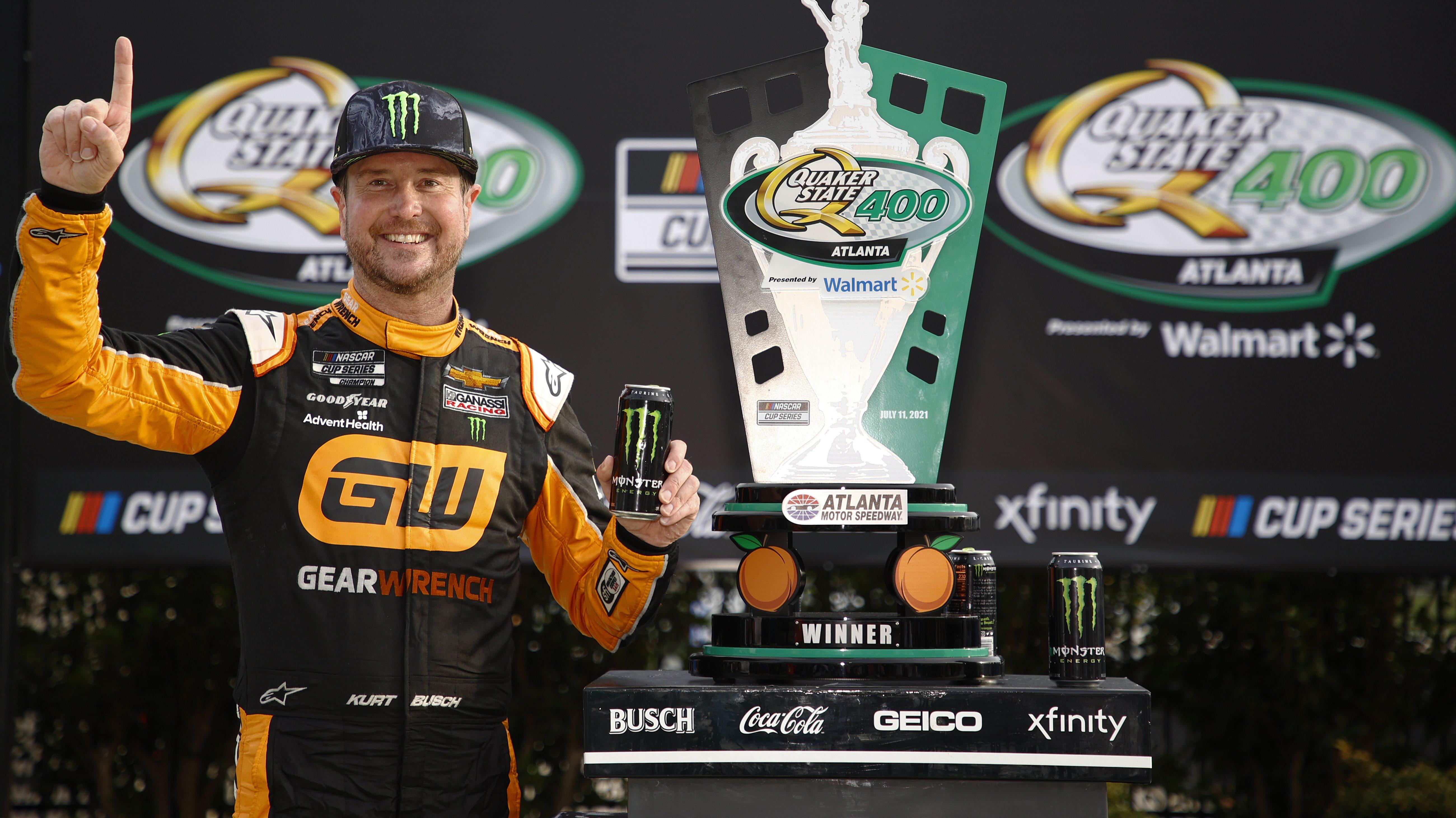 Kurt Busch Partners With NASCAR for 'Window of Hope' - Heavy.com