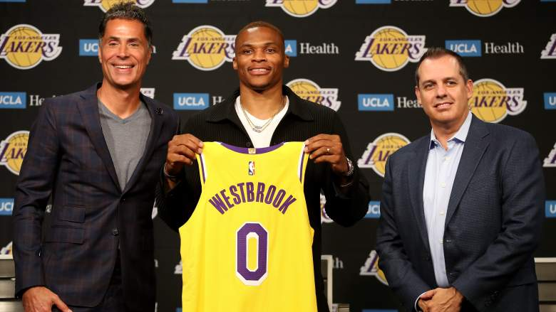 The Lakers' addition of Russell Westbrook highlighted an overhaul that has them favored to win the West.
