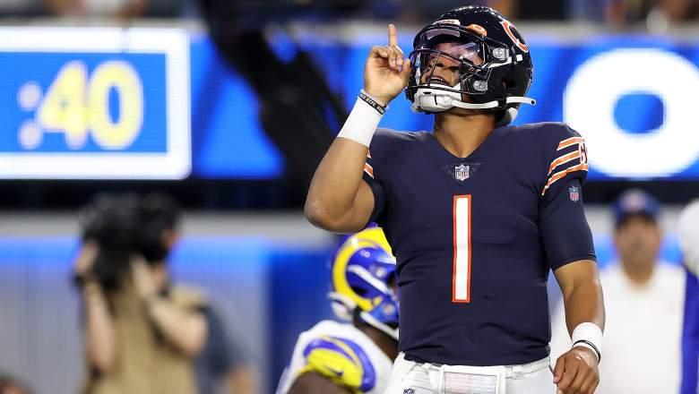 Justin Fields Bears start