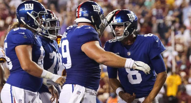 Billy Price was problematic for Giants vs. Washington