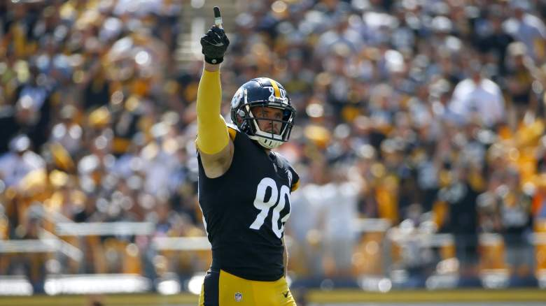 T.J. Watt Pittsburgh Steelers
