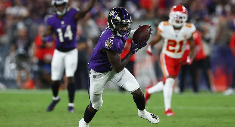Ravens Marquise Brown