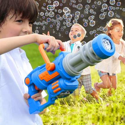 HOMILY Gatling Bubble Gun