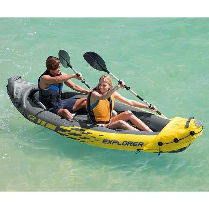 inflatable tandem kayak