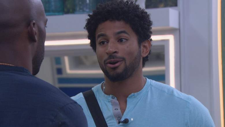 Kyland Young in the 'Big Brother 23' house