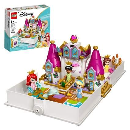 LEGO Disney Ariel, Belle, Cinderella and Tiana's Storybook Adventures Building Kit