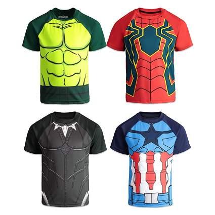 Marvel Avengers 4-Pack Graphic T-Shirt Set