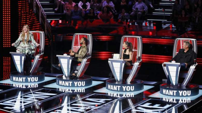 The Voice Four Chair Turn