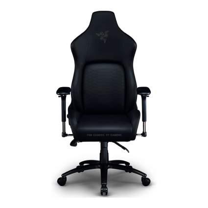 Black Razer gaming chair