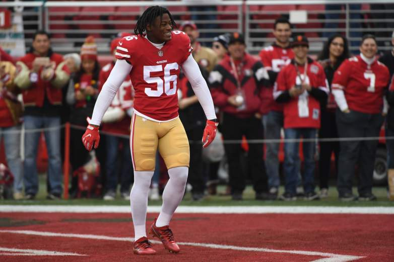 Reuben Foster is getting another shot in Cleveland