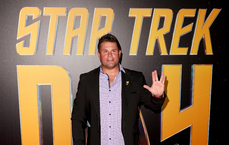 """Rod Roddenberry arrives at Paramount+'s 2nd Annual """"Star Trek Day' celebration at Skirball Cultural Center on September 08, 2021 in Los Angeles, California."""