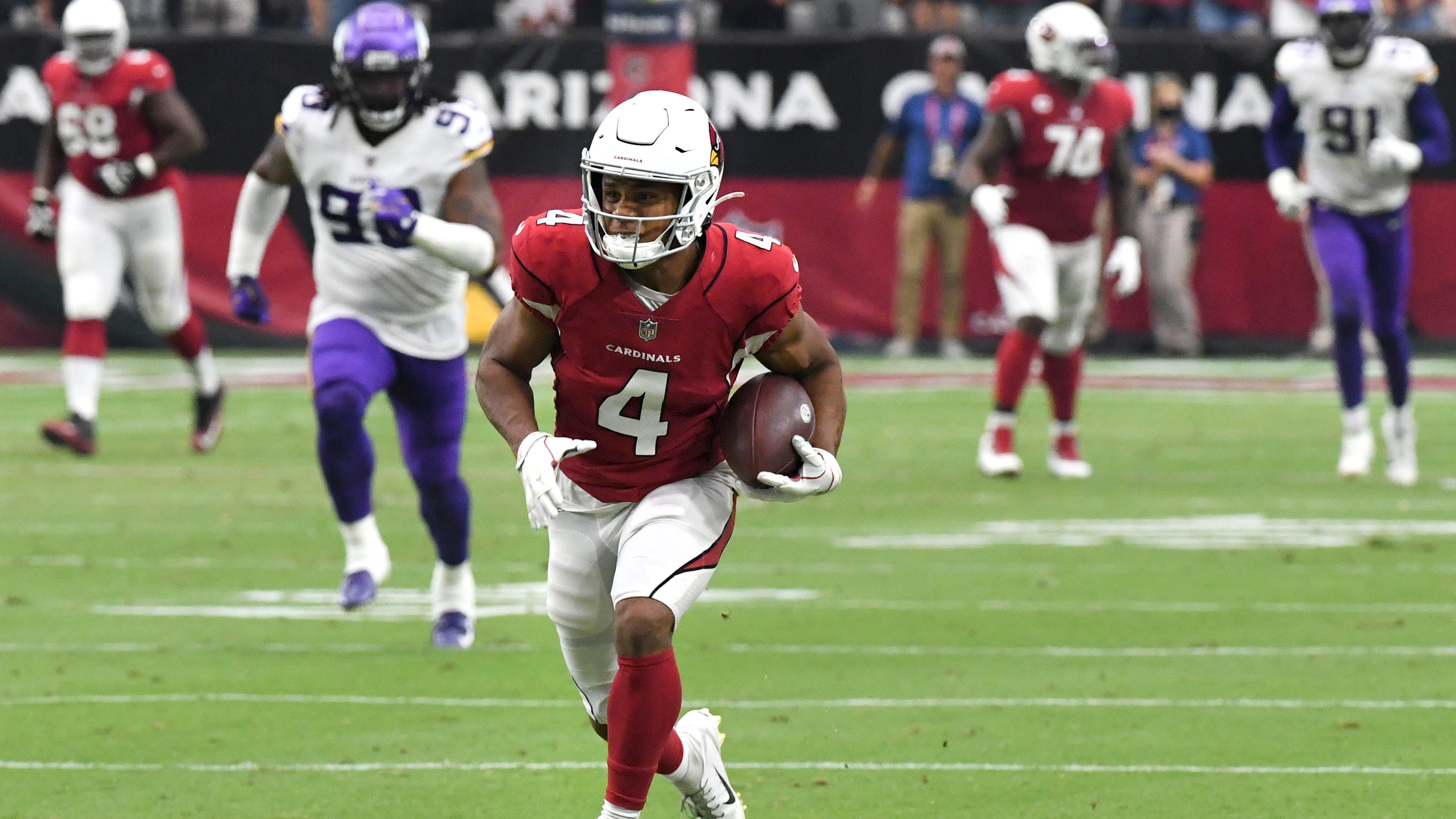 NFL Analyst on Cardinals WR Rondale Moore: 'Defying Logic' | Heavy.com