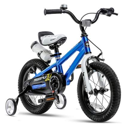 RoyalBaby Kids Freestyle Bicycle with Training Wheels