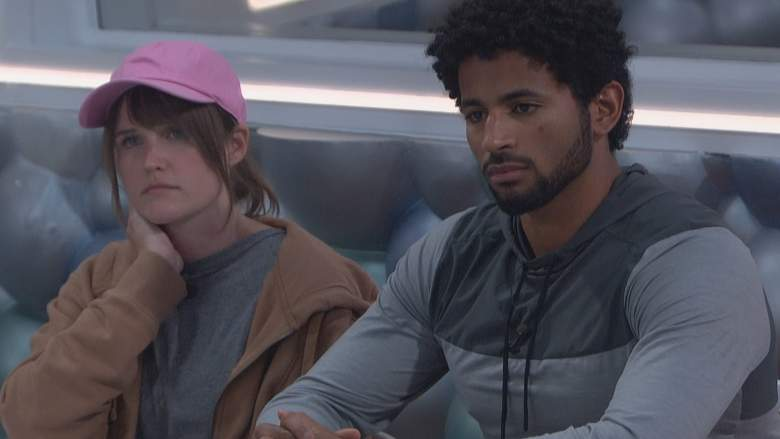 Sarah Beth and Kyland in the 'Big Brother 23' house