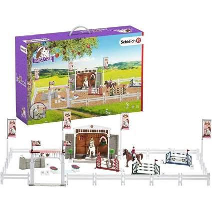Schleich branded horse show toy set