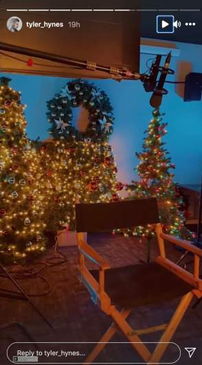 Tyler Hynes Filming New Christmas Movie With 'One Tree Hill' Star