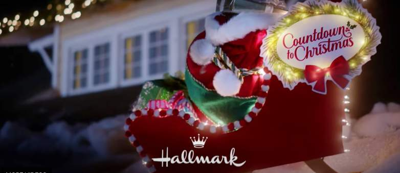 Hallmark Quietly Removes Premiere Date from Countdown to Christmas Promo