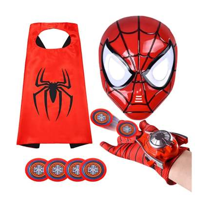 Spider-Man Mask and Web Shooter Set