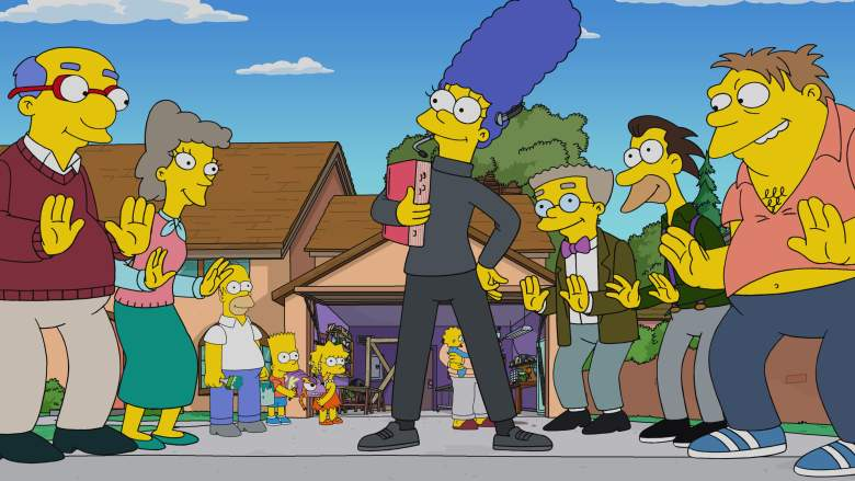 THE SIMPSONS: A musical comes to life in Springfield as Marge stages a revival of her beloved high school show