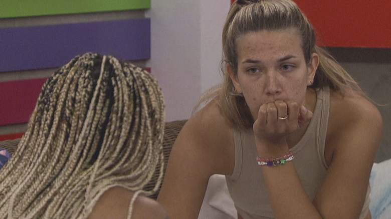 Tiffany Mitchell and Claire Rehfuss in the 'Big Brother 23' house