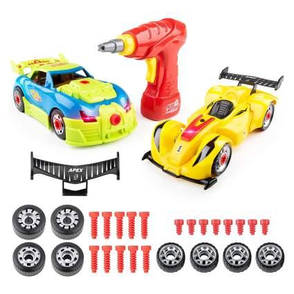 USA Toyz Kid Nitro Race Car Building Toys