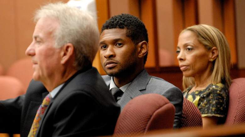 Usher and ex-wife Tameka Foster