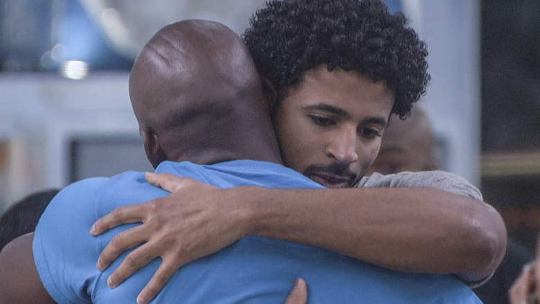Xavier and Kyland in the 'Big Brother 23' house