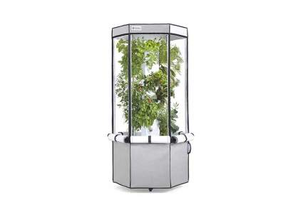 aero vertical hydroponic growing system