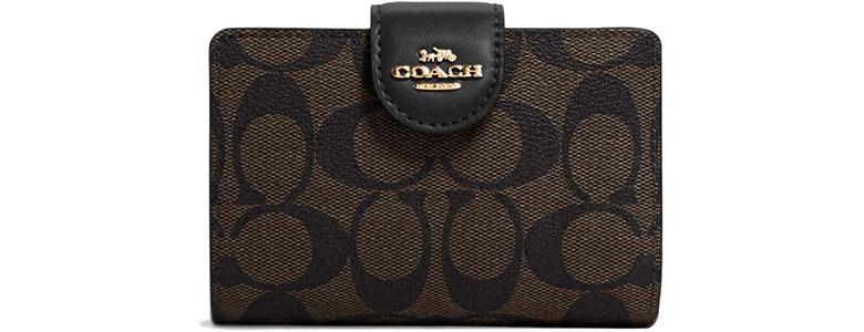 coach womens wallet