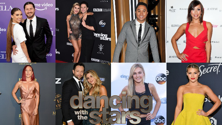 DWTS 2021 Pairs