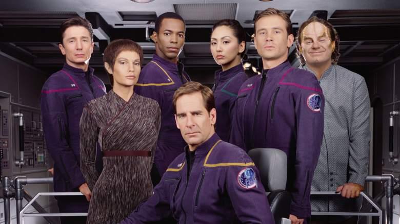 The cast of 'Star Trek: Enterprise'