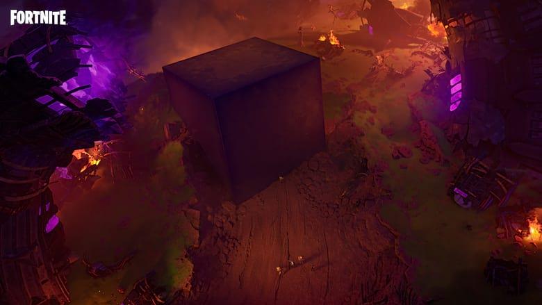 fortnite gold cube