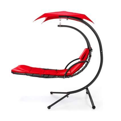 red hammock chair
