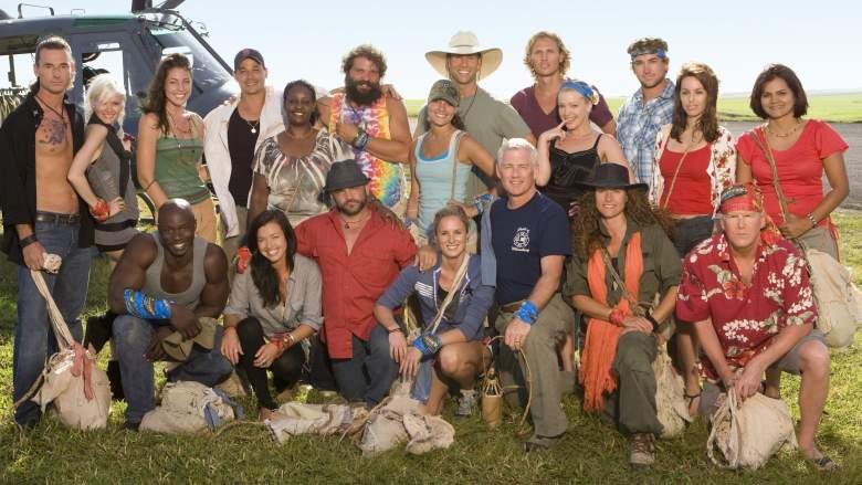 The cast of 'Survivor: Heroes vs. Villains'