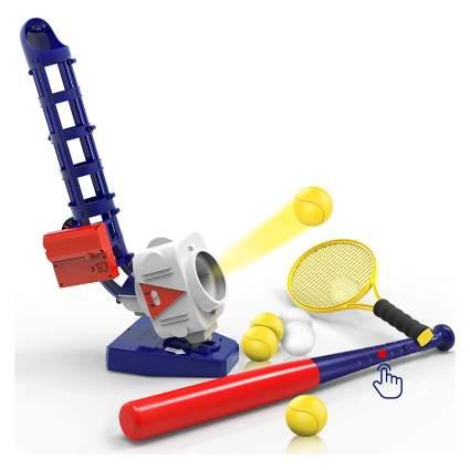 iPlay, iLearn 2-in-1 RC Baseball & Tennis Pitching Machine