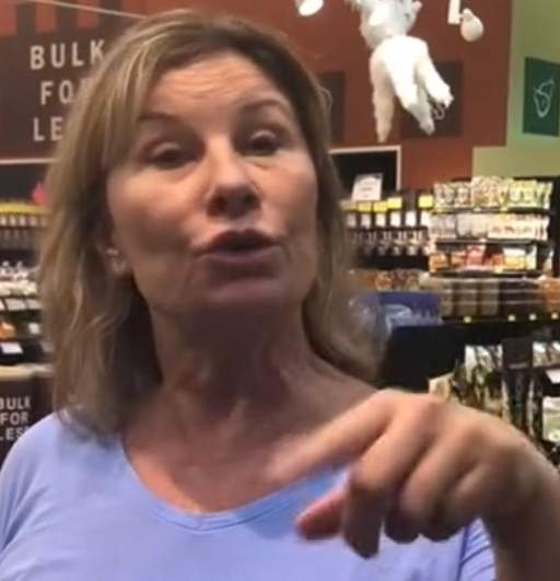 lincoln woman coughing video