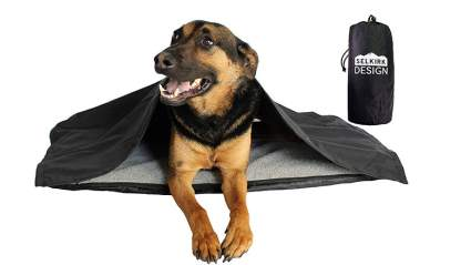 mojo inflatable dog bed